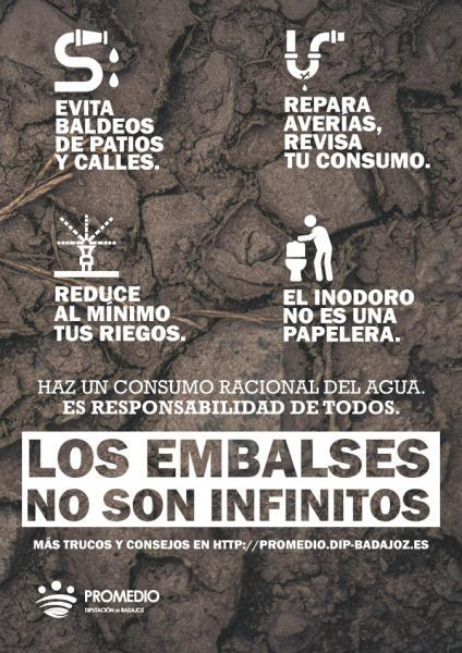 Los embalses no son infinitos